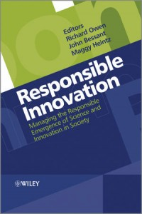 Responsible Innovation - front cover