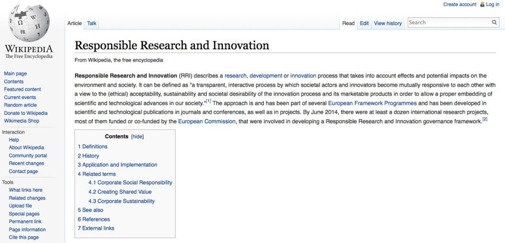RRI-Wikipedia published